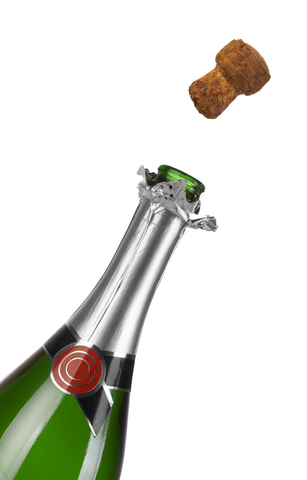 Bottle of Champagne for Joel