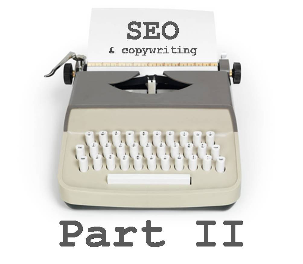 Copywriting and SEO part 2