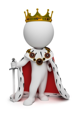On Page SEO. Image of a little King. The King of Niche.
