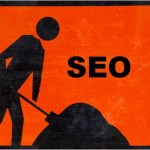SEO Roadworks sign