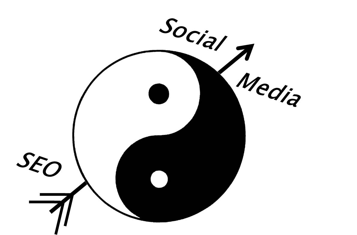 Social Media SEO Yin and Yang